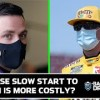 Who's in bigger trouble early? Alex Bowman or Kyle Busch: NASCAR's Backseat Drivers | Full Show
