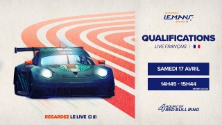 LIVE FR – Qualifications – 4 Heures du Red Bull Ring 2021