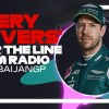 Every Driver's Radio At The End Of Their Race | 2021 Azerbaijan Grand Prix