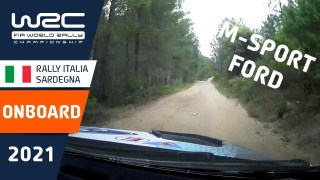 ONBOARD compilation M-Sport Ford / WRC Rally Italia Sardegna 2021
