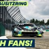 Fans return to DTM Lausitzring + NEW turn 1 banking layout
