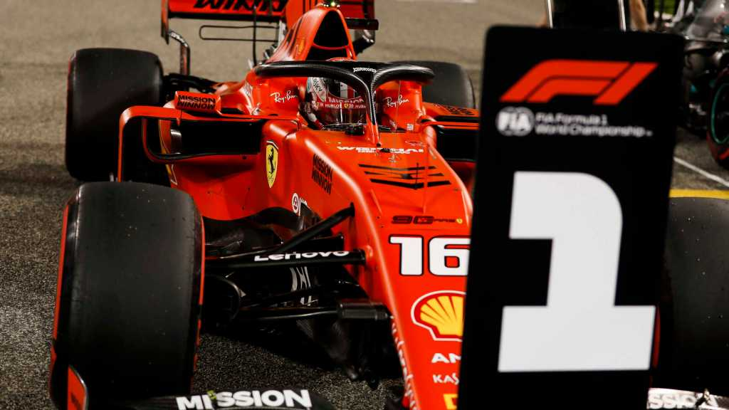 Charles Leclerc Pole Position GP Bahrain