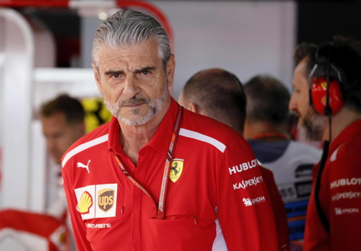 Arrivabene: Mi sento ancora della Ferrari