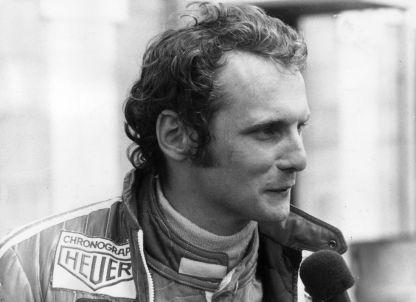 Niki Lauda nel 1975 (Frank Barratt/Keystone/Getty Images)