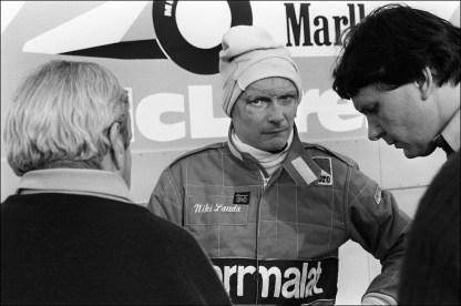 Niki Lauda nel 1981 (GERARD FOUET/AFP/Getty Images)