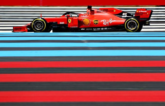 Notizie Ferrari - La Ferrari F1 di Sebastian Vettel ottiene il giro più veloce in gara