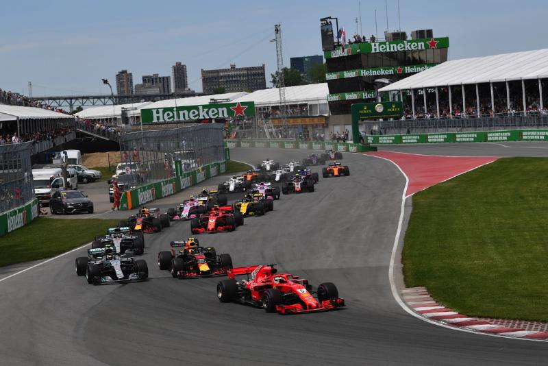 Orari GP Canada 2019, partenza della scorsa edizione del gran premio