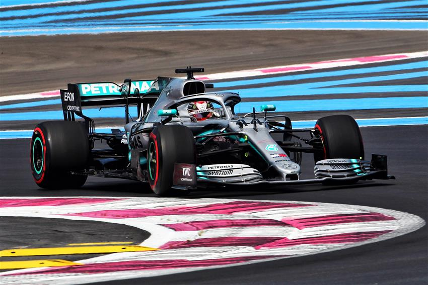 video hamilton sotto investigazione gp francia f1