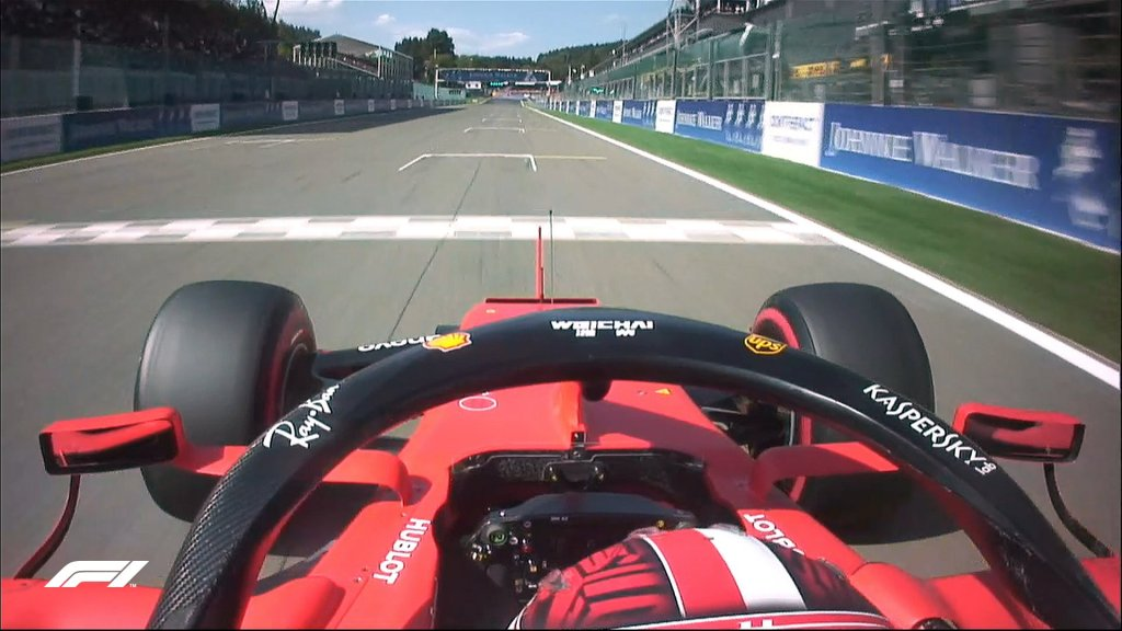 f1 qualifiche leclerc ferrari pole position gp belgio