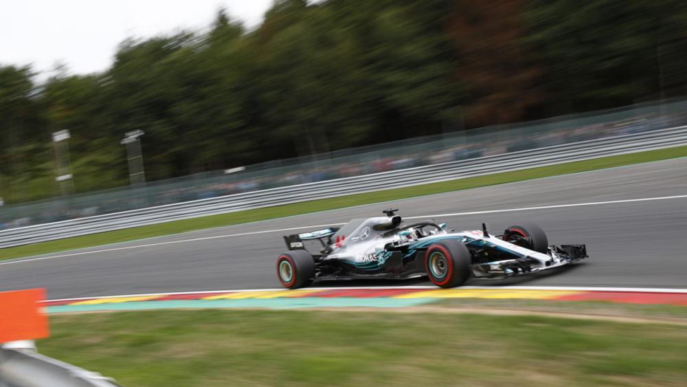F1 GP Belgio - Pole 2018 Lewis Hamilton