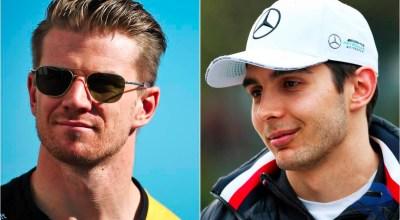 Nico Hulkenberg ed Esteban Ocon, due protagonisti del Mercato Piloti 2019 di Formula 1