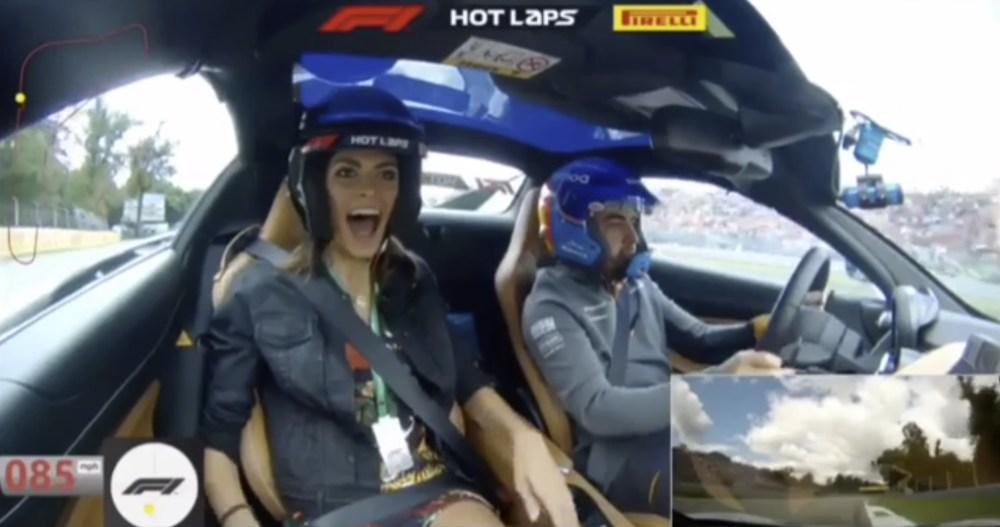 Alonso e Linda a Monza - Video
