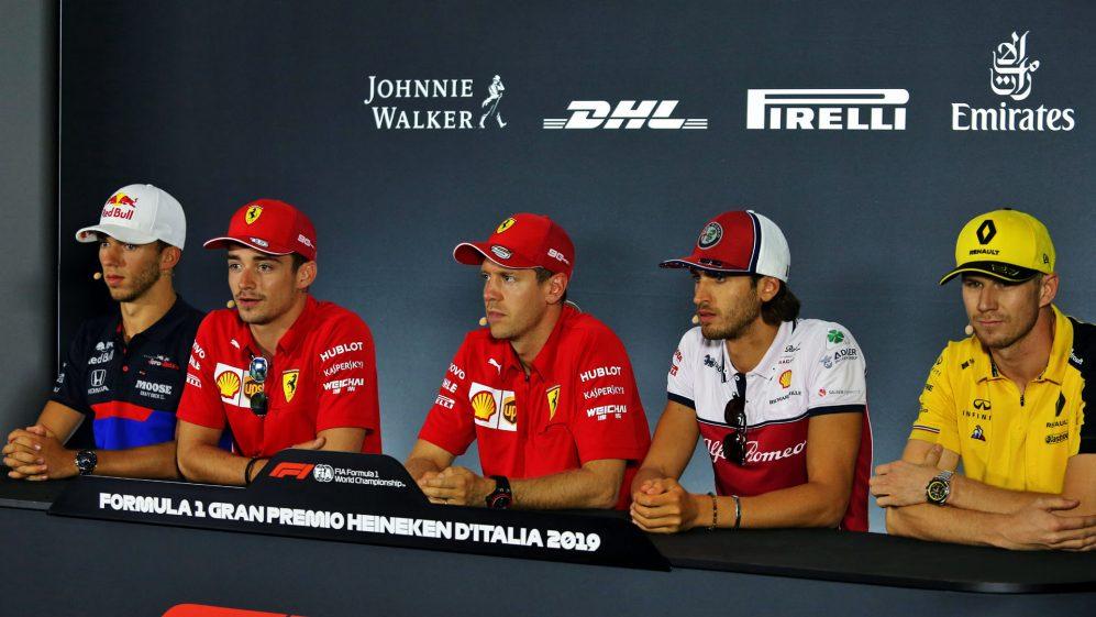 F1 - GP Italia, Monza - Leclerc e Vettel in Conferenza Stampa 3