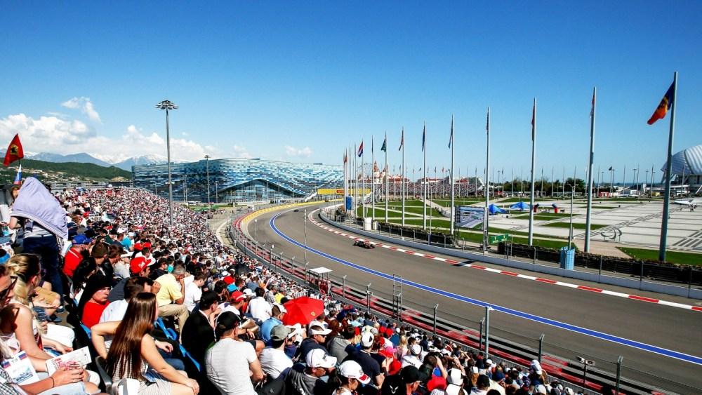 F1 Gran premio di Russia Sochi - Circuito