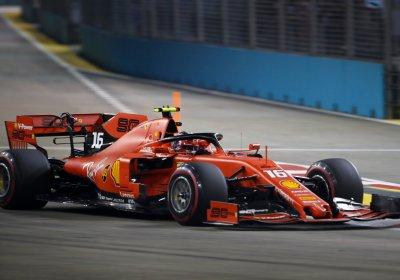 F1 GP Singapore - Diretta Gara - Ferrari Leclerc 3