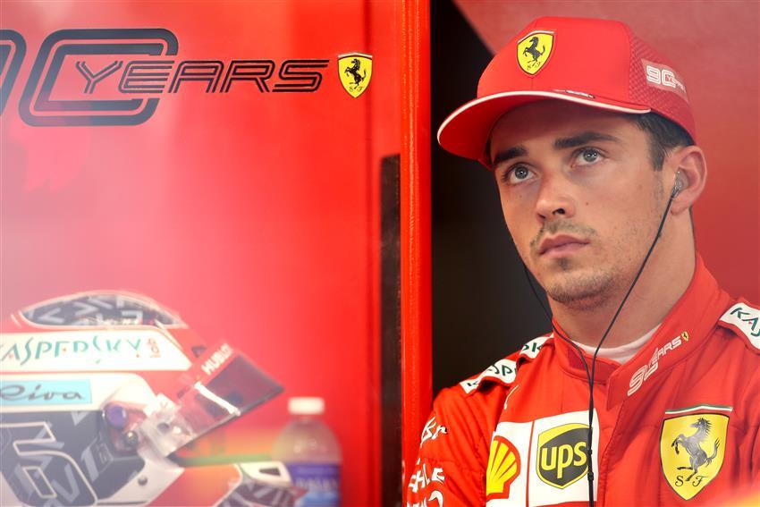 F1 Notizie Ferrari GP Singapore - Intervista - Leclerc