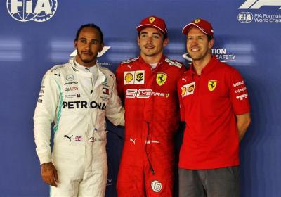 F1 GP Singapore - Griglia di Partenza