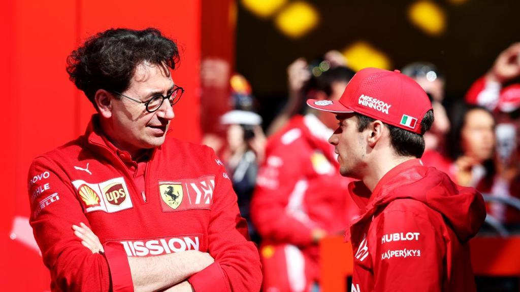 F1 GP Singapore - Qualifiche - Binotto soddisfatto della pole position di Leclerc