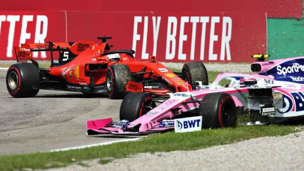 Video Vettel parla con Stroll dopo incidente - GP Italia Monza