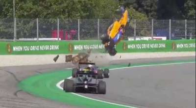 peroni incidente f3 monza