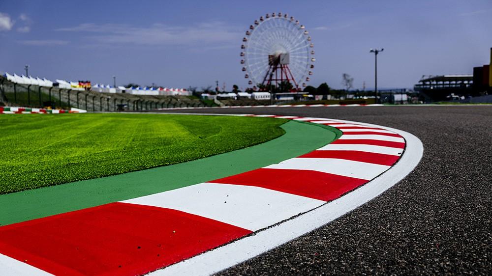 F1 Suzuka GP Giappone, particolare del circuito
