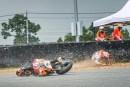 motogp, caduta di marquez in thailandia