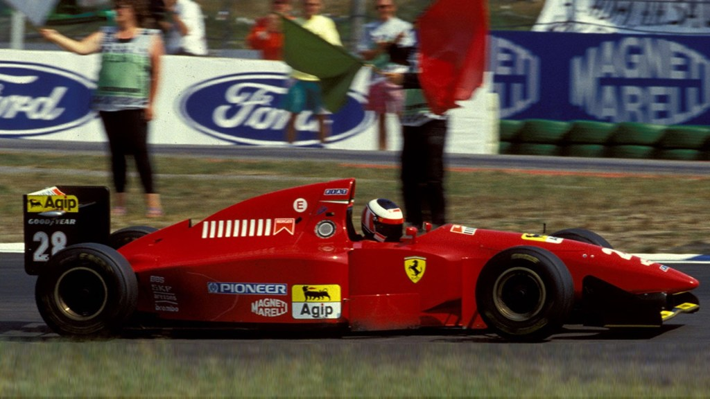 ferrari berger vittoria germania 1994