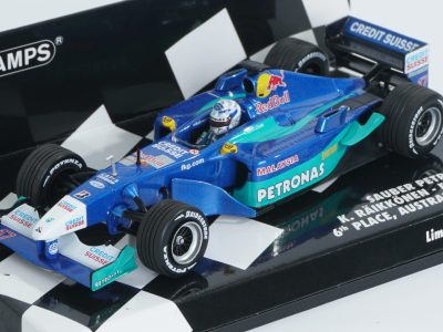 modellino raikkonen sauber f1 2001