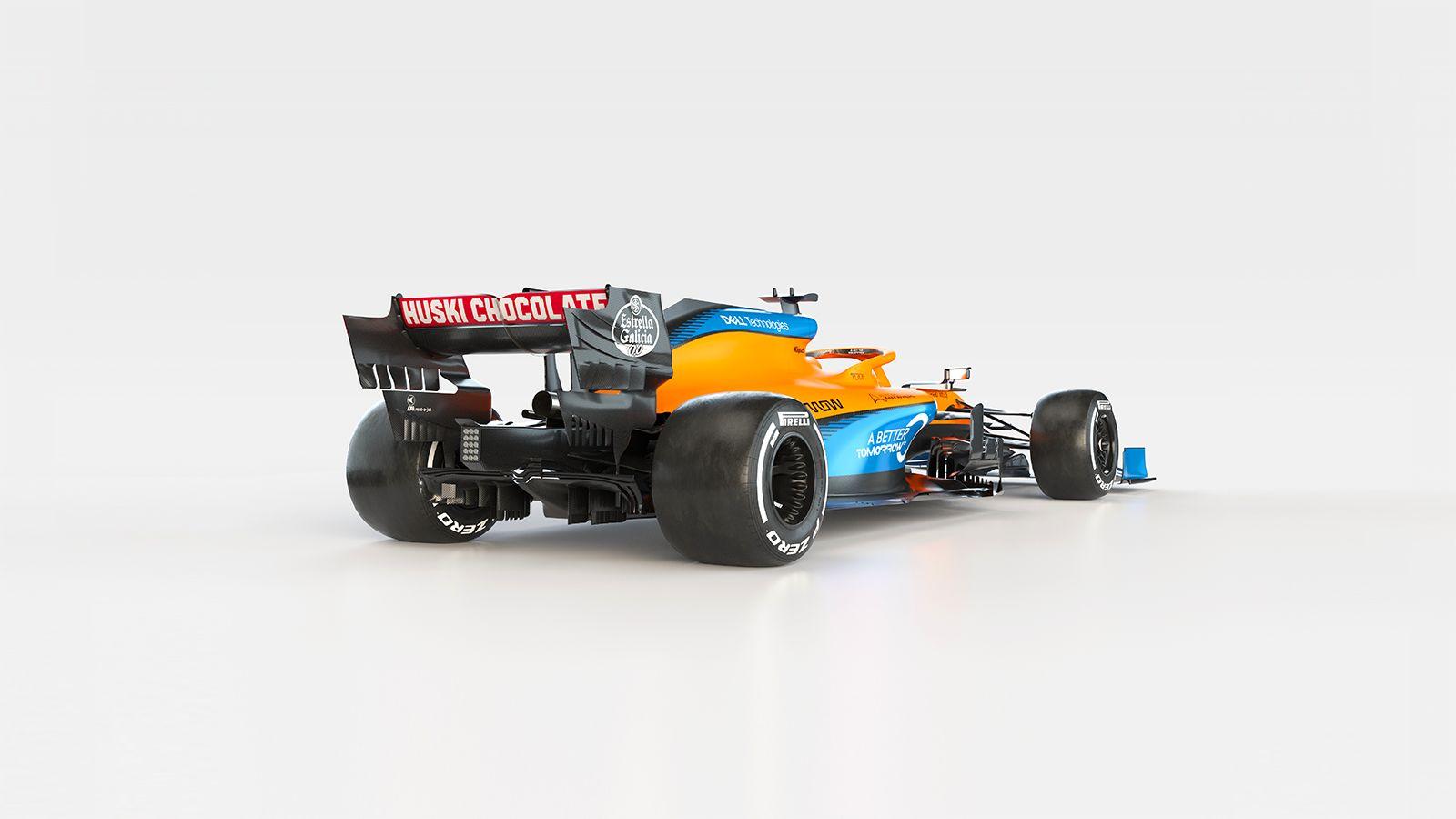McLaren MCL35: svelata la vettura color papaya e blu [FOTO e VIDEO]