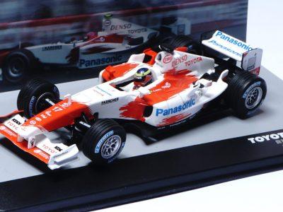 modellino toyota F1