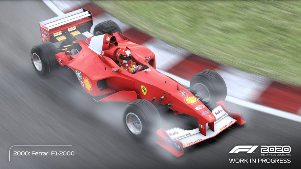 f1 2020 schumacher edition video e auto