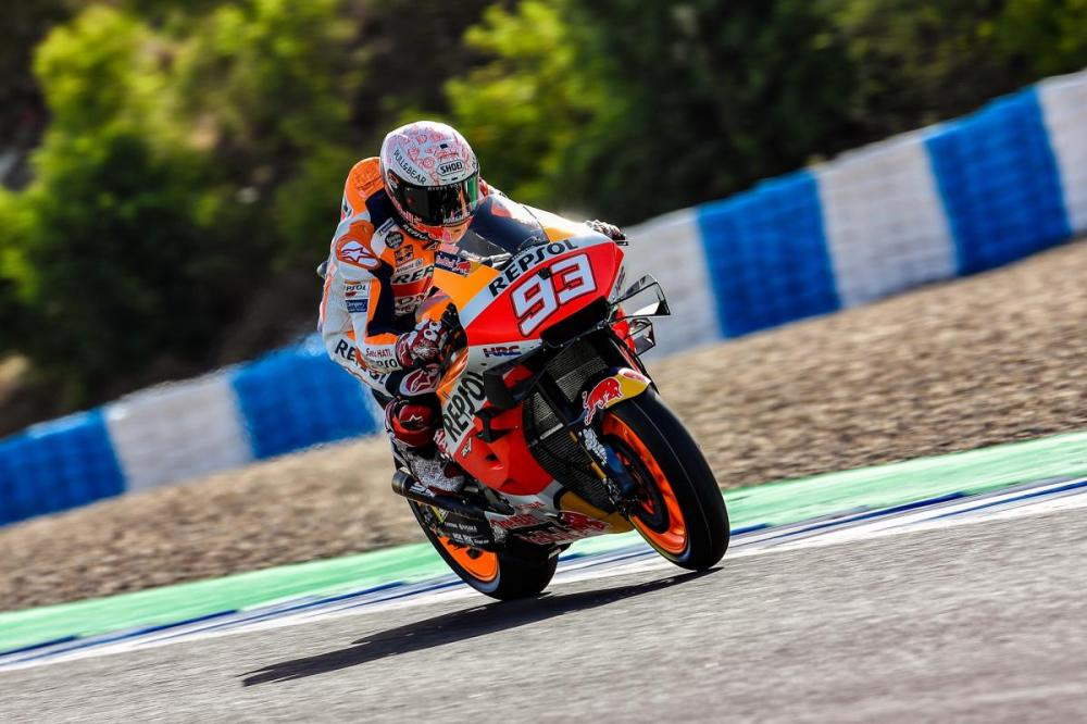motogp marquez incidente video