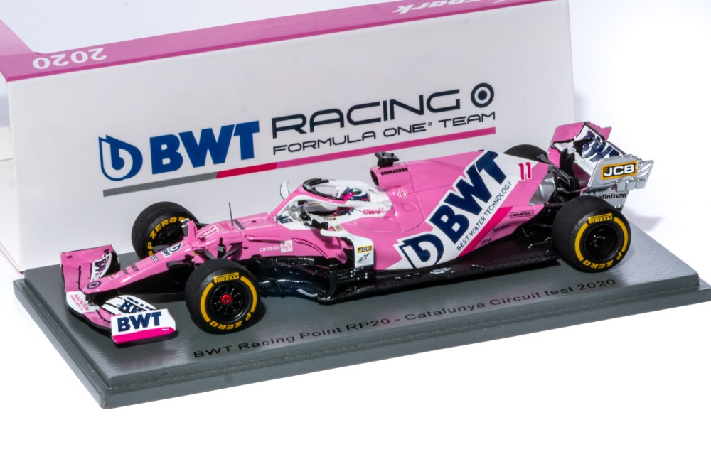 modellino f1 2020 racing point sergio perez spark