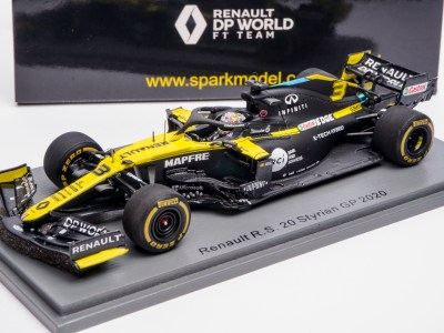 modellino f1 renault ricciardo 2020 spark 1:43