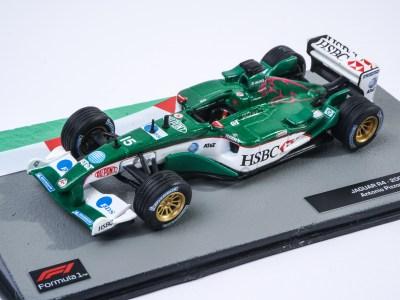 modellino f1 jaguar r4 2002 f1