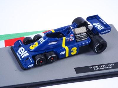 modellino f1 tyrrell 6 ruote