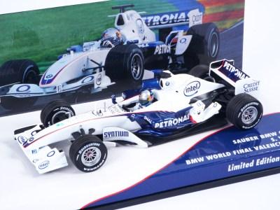 modellino f1 vettel bmw 2006