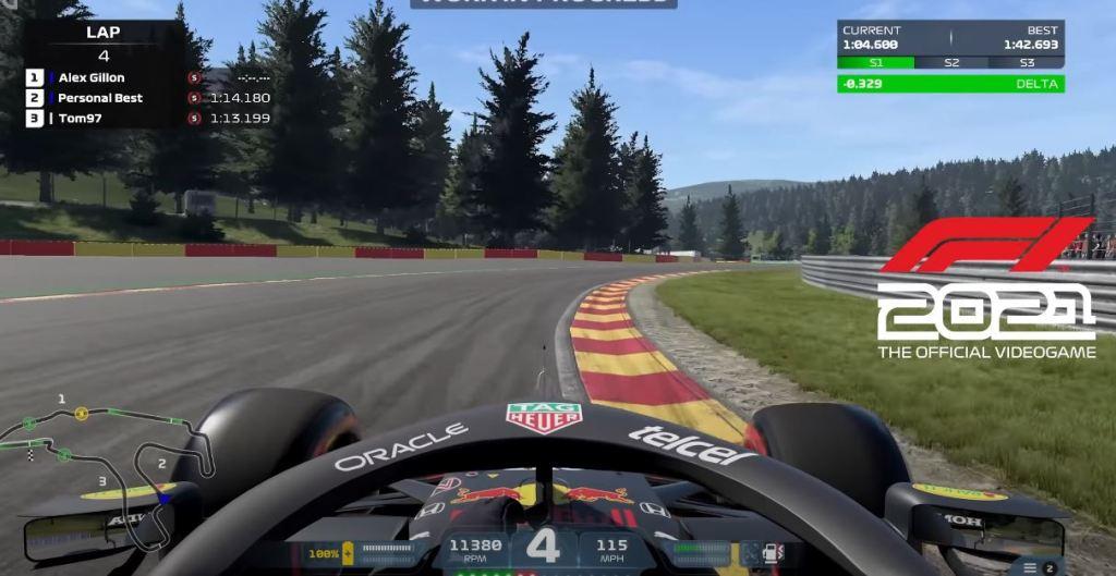 f1 2021 game screenshot spa