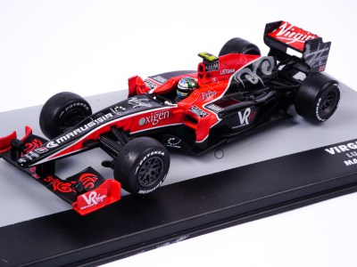 modellino f1 virgin racing 2010 scala 1:43