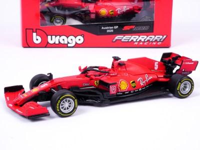 modellino ferrari f1 sf1000 vettel burago 1:43 rosso classico