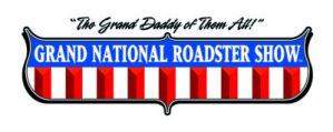 Grand National Roadster Show in Pomona, CA logo