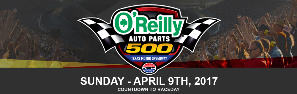 O'Reilly Auto Parts 500, Sunday-April 9th, 2017. Get deals on tickets by clicking to learn more.
