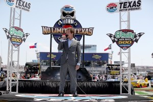 Jim Rome gives the command to start engines