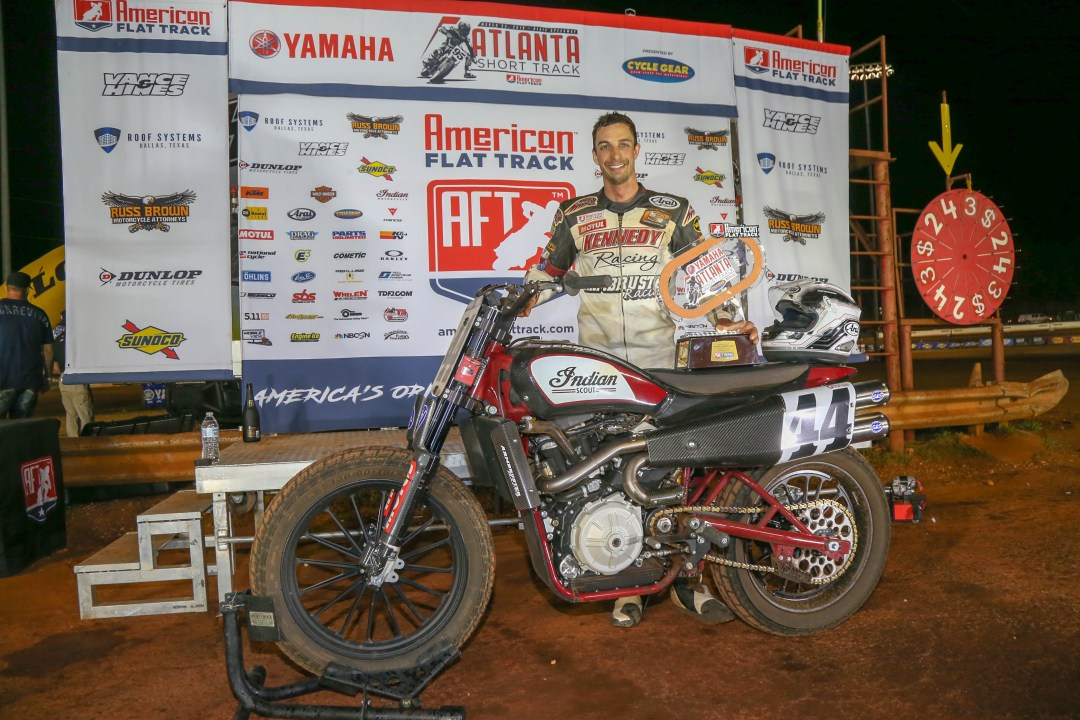 Indian Motorcycle Racing's FTR750 Sweeps Podium at Atlanta Short Track