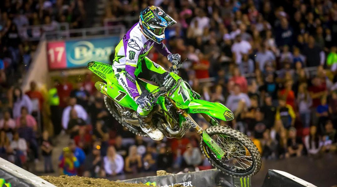 191020 Two-time Monster Energy Cup champion Eli Tomac