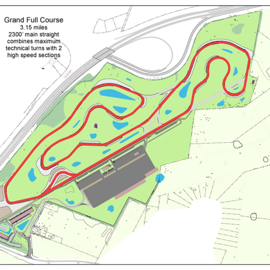 hight resolution of grand course map