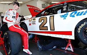 Ryan Blaney at 2015 Daytona 500