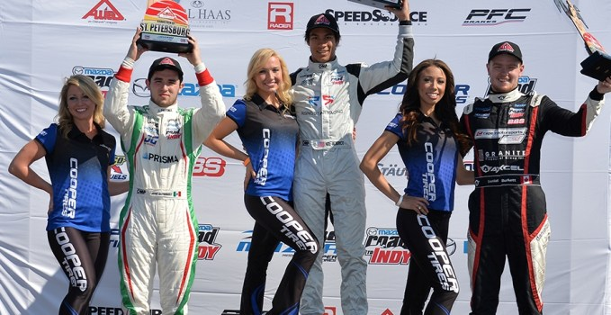 Neil Alberica swept the opening weekend for the Pro Mazda Championship in St. Pete