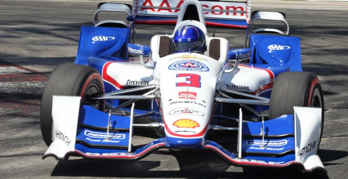 Helio Castroneves 2015 Long Beach