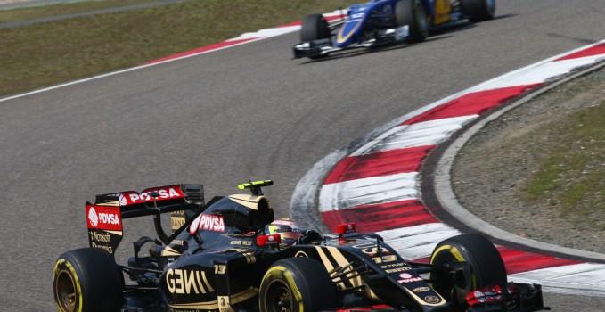 Pastor Maldonado Chinese Grand Prix